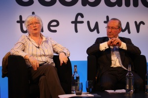 Maria Brenton on the Eco Build platform with Lord Best