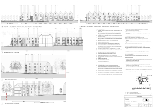 St Luke's west site elevations