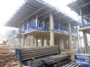 Woodside Square Cohousing units construction in progress